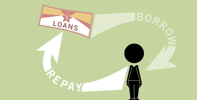 Loans-borrow-repay